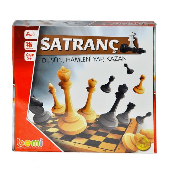 BEMİ 1376 AHŞAP ECO SATRANÇ