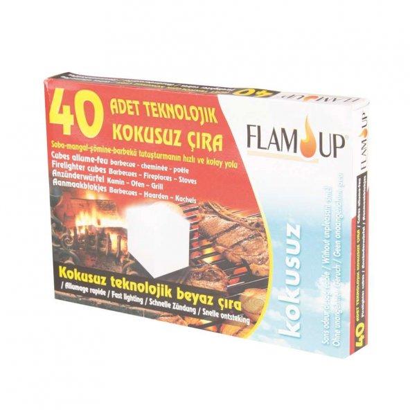 FLAM UP TEKNOLOJİK BEYAZ ÇIRA 40LI