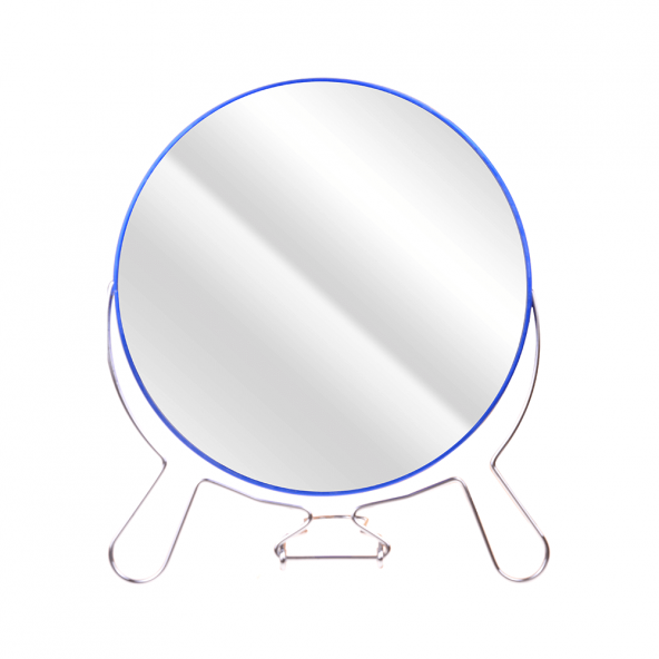 NEROX 19,5 CM MAVİ AYAKLI METAL AYNA NRX-2023