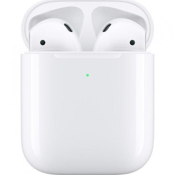 Apple AirPods Bluetooth Kulaklık ve Kablosuz Şarj Kutusu MRXJ2TU/