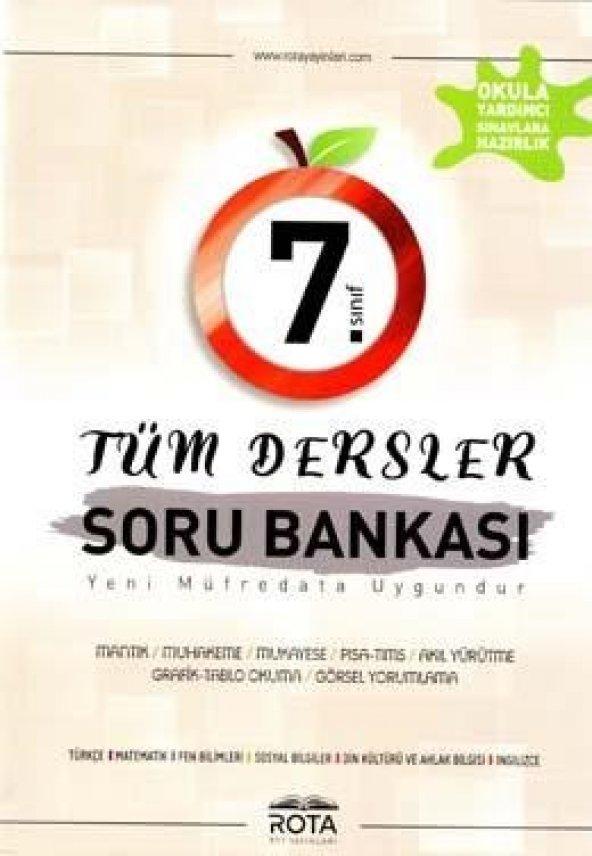 Rota Yayınları 7. Sınıf Tüm Dersler Soru Bankası