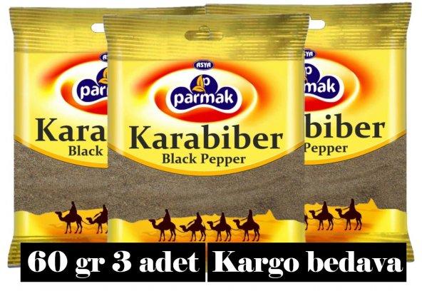 Karabiber (ogutulmus) 60gr (3 adet) Parmak baharat