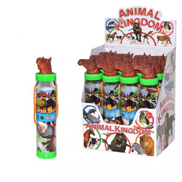 Çiftlik Hayvanları Oyun Silindir Kutu Seti