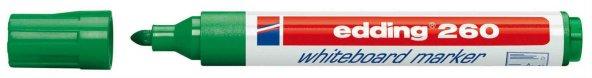 Edding 260 Silinebilir Yazı Tahtası Kalemi Board Marker 10 Adet Yeşil ÜCRETSİZ KARGO