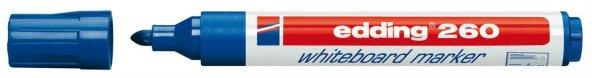 Edding 260 Silinebilir Yazı Tahtası Kalemi Board Marker Mavi