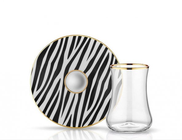 Koleksiyon Dervish Zebra Çay Seti 6lı