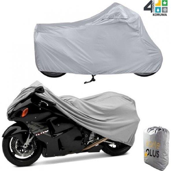 Yamaha Warrior Midnight  Motosiklet Örtü Branda KalitePlus