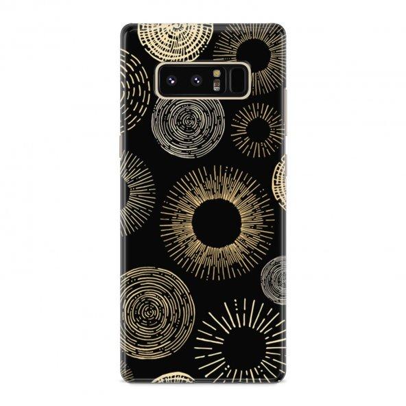Samsung Galaxy Note 8 Kılıf Silikon Arka Koruma Kapak Modern Zama