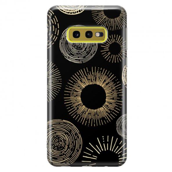 Samsung Galaxy S10E Kılıf Silikon Arka Koruma Kapak Modern Zamanl