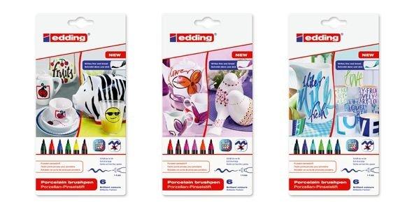 Edding 4200 Porselen Kalemleri 18 li Karışık Paket ÜCRETSİZ KARGO