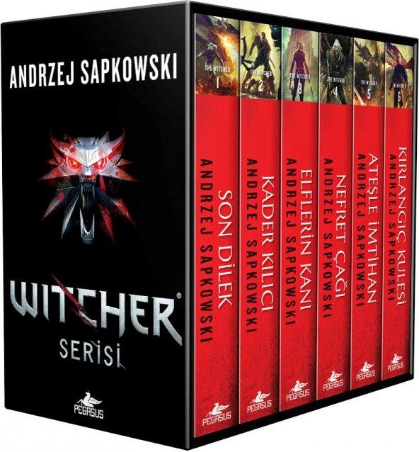 The Witcher Serisi Özel Kutulu Set (6 Kitap)