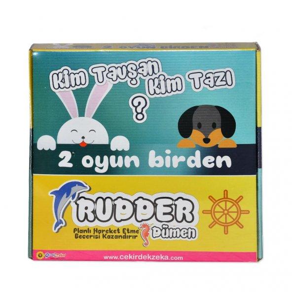 ZK14 RUDDER & TAZI-TAVŞAN (2 OYUN 1 ARADA)