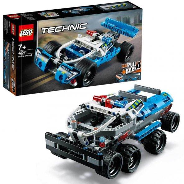 LMT42091 TECH- Police Pursuit /Technic +7 yaş LEGO 120 pcs