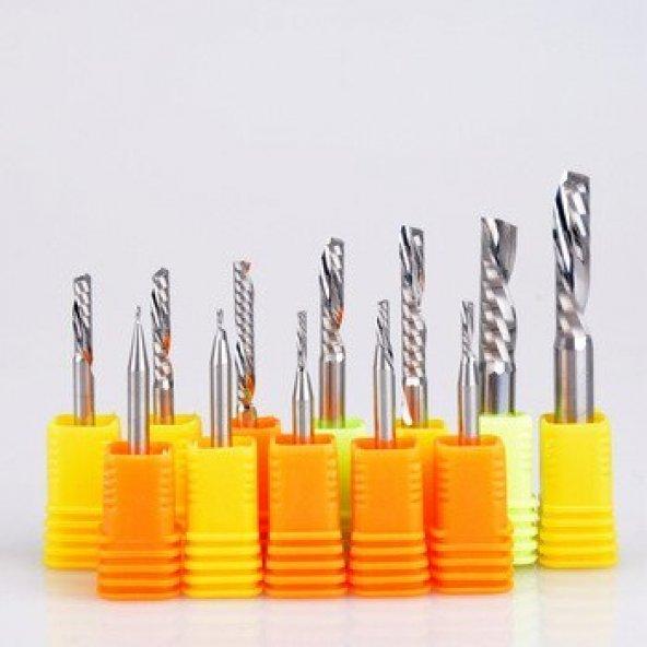3 Boyut İşleme 3d Karbür Freze 14x40x100 Cnc Bıçağı