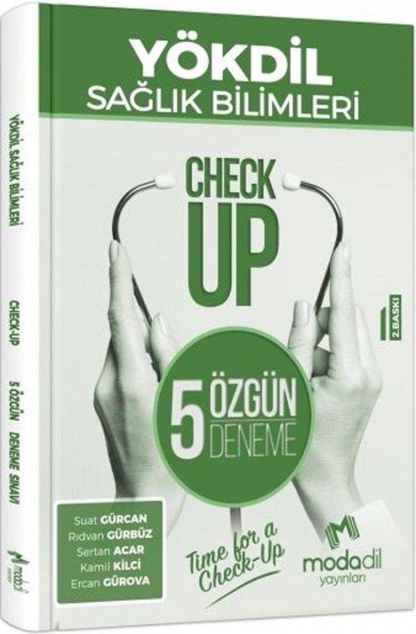 Modadil Yayınları YÖKDİL Sağlık Bilimleri Check Up 5 Özgün Deneme