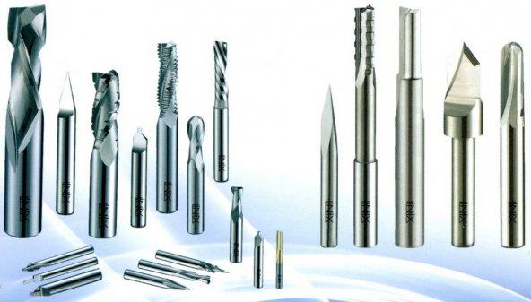 Alüminyum/Kompozit 2 mm Cnc Bıçağı Karbür Freze