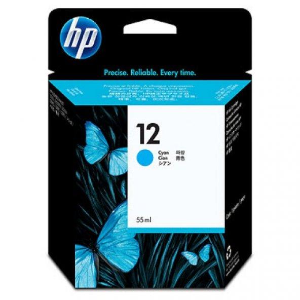 HP 12 Cyan Original Ink Cartridge (C4804A)