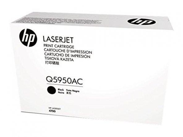 HP Black Toner Cartridge for Laser Jet 4700 Series (Q5950AC)