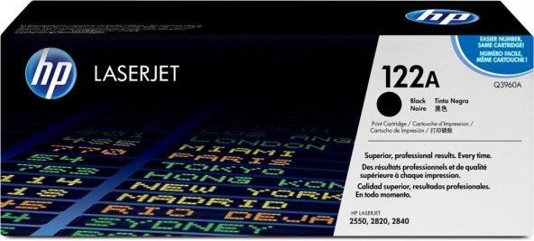 HP 122A (Q3960A) Black Original LaserJet Toner Cartridge