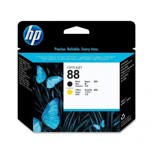 HP 88 Black/Yellow Printhead (C9381A)