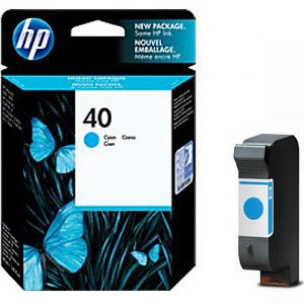 HP Original OEM 51640C Cyan Ink Cartridge