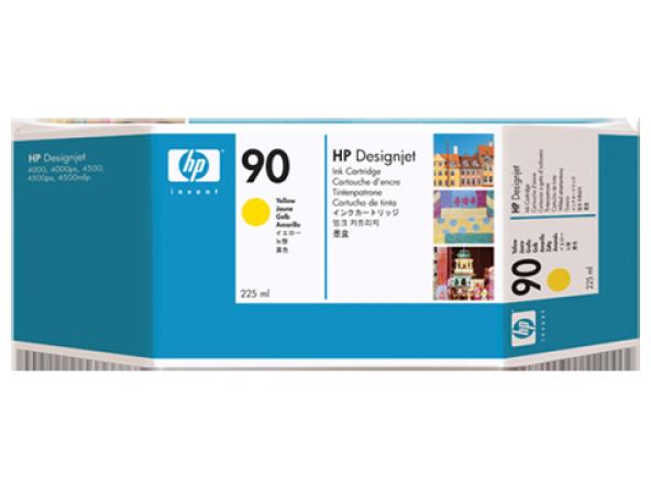 HP 90 225 ml Sarı Mürekkep Kartuşu (C5064A)