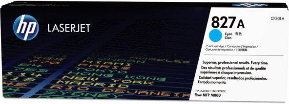 HP 827A (CF301A) Cyan Original LaserJet Toner Cartridge