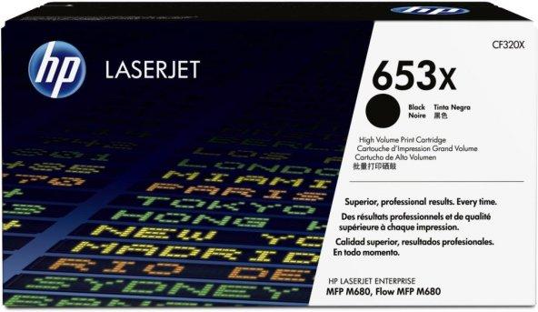 HP 653X (CF320X) Black High Yield Original LaserJet Toner Cartrid