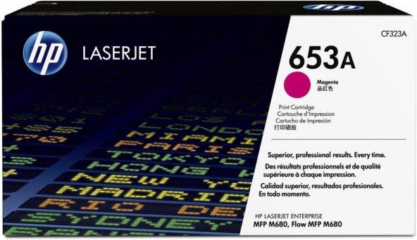 HP 653A (CF323A) Magenta Original LaserJet Toner Cartridge