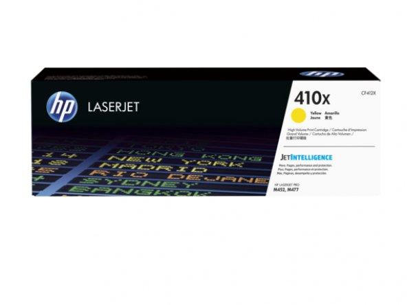 HP 410X Contract High Yield Yellow Original LaserJet Toner Cartri