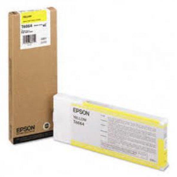 Epson T6064-C13T606400 Sarı Orjinal Kartuş