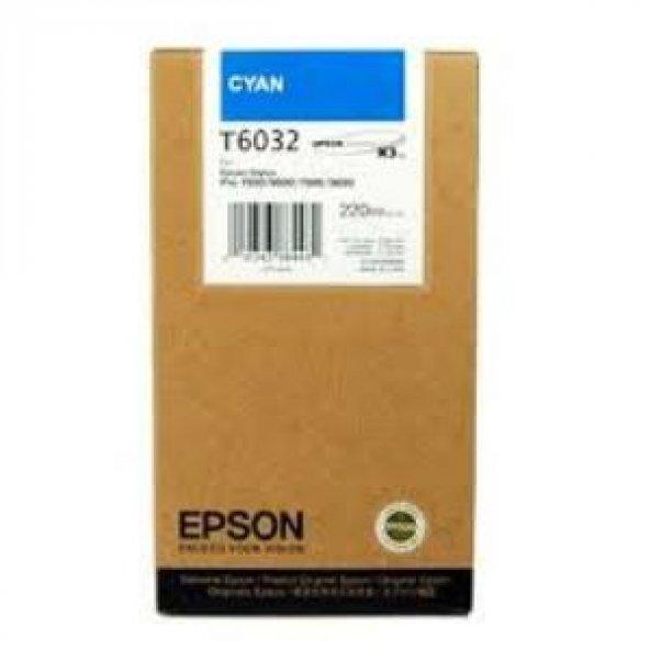 Epson T6032-C13T603200 Mavi Orjinal Kartuş
