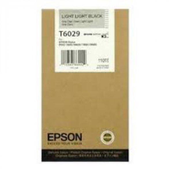 EPSON UltraChrome K3 Light-Light Black (110ml). C13T602900