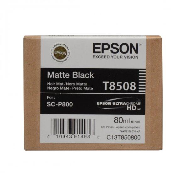 EPSON SURECOLOR SC-P800 T850800 MATTE BLACK C13T850800