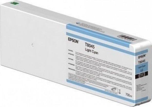 T8045 LİGHT CYAN T804500 ULTRACHROME HDX/HD 700ML C13T804500
