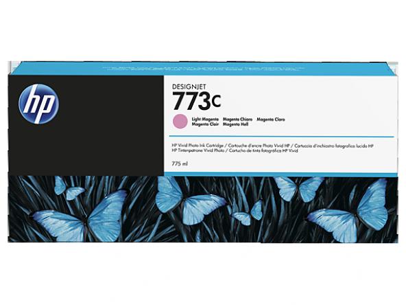 HP 773C 775 ml Açık Kırmızı Designjet Mürekkep Kartuşu (C1Q41A)