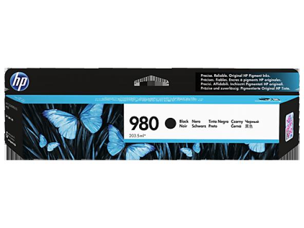 HP 980 Black Original Ink Cartridge (D8J10A)