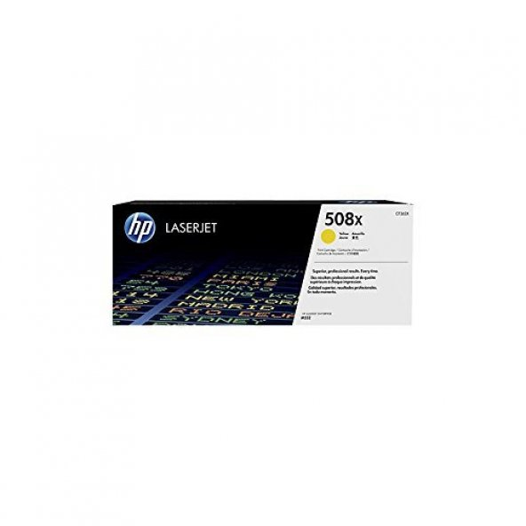 HP CF362XC - TONER CARTRIDGE 508X YELLOW - CONTRACT LASERJET