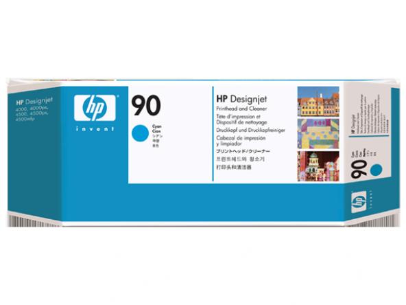 HP 90 Cyan Printhead C5055A Orjinal