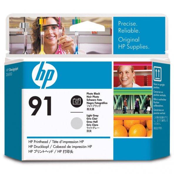 HP 91 Orjinal Photo Black Light Grey C9463A