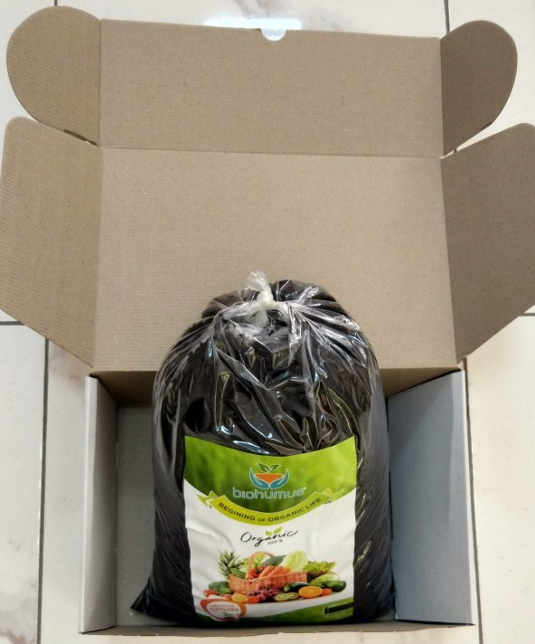 Biohumus Organik Gübre Bitki Besin Gübresi 10 Litre