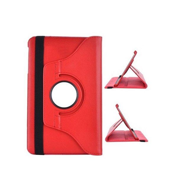 Galaxy Tab 4 10.1 T530 Kırmızı Dönerli Tablet Kılıfı