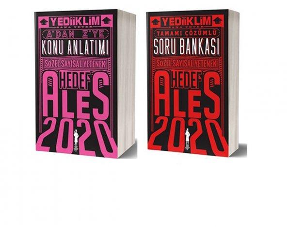Yediiklim Yayınları 2020 ALES Sayısal Sözel Yetenek Konu Anlatımı + Soru Bankası Seti
