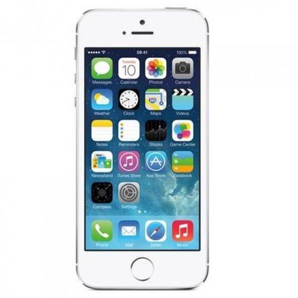 İPHONE 5S GÜMÜŞ 16GB 12 AY KVK T.S GARANTİLİ(AÇIKLAMAYI OKUYUNUZ)