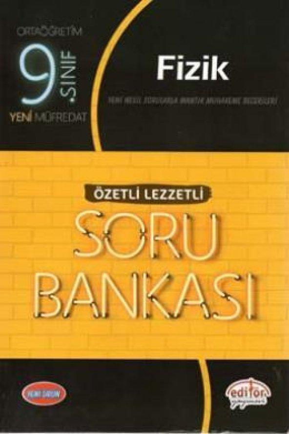 9.Sınıf Fizik Soru Bankası Özetli Lezzetli