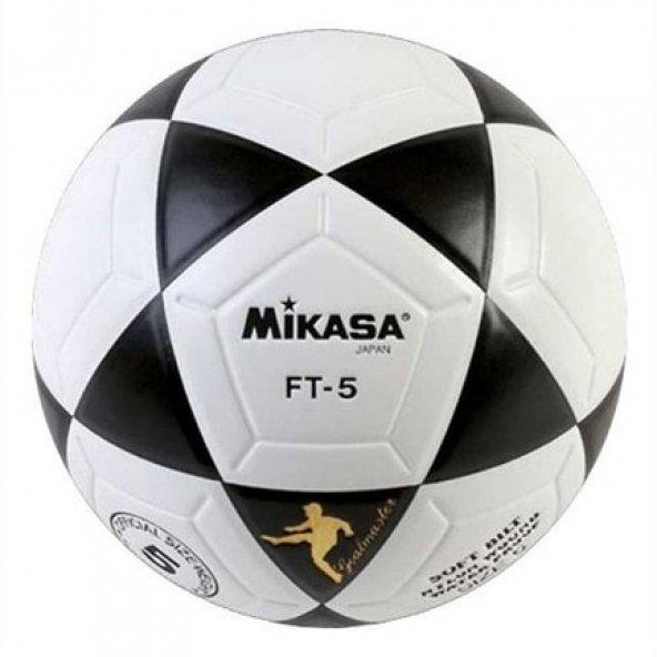Mikasa FT-5 Yapıştırmalı 5 No Futbol Topu BEYAZ