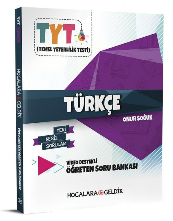TYT Hocalara Geldik Video Destekli Türkçe Soru Bankası