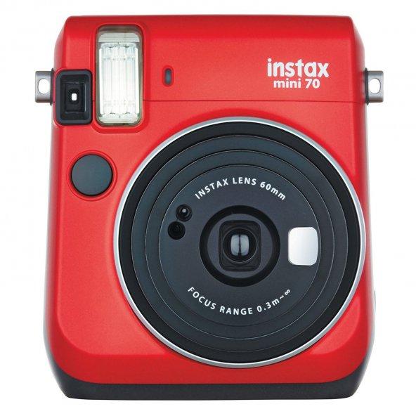Fujifilm instax Mini 70 Şipşak  kırmızı