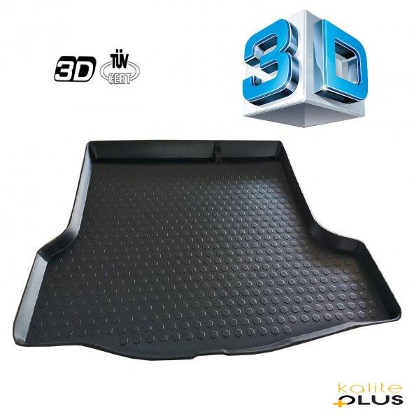 Skoda Super B 2014 Sonrası 3D Bagaj Havuzu KalitePlus