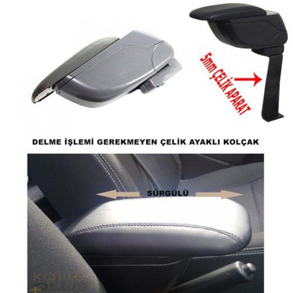 Renault Clio 4 2018 Model Kolçak Kol Dayama Delme Yok KalitePlus Gri